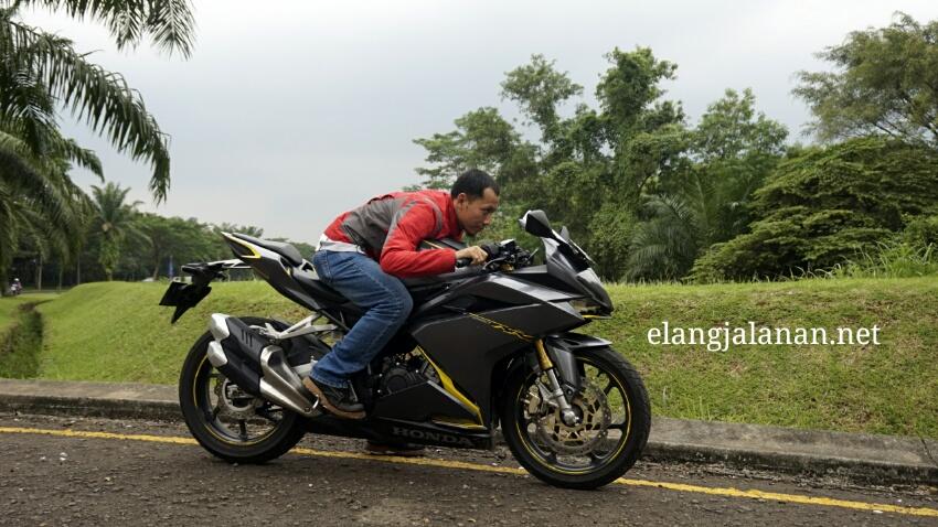 test harian Honda CBR250RR dengan boncengan