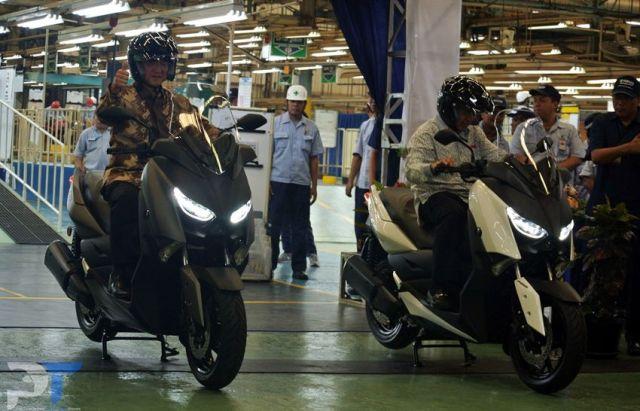 Yamaha Indonesia Mulai Produksi XMAX 300