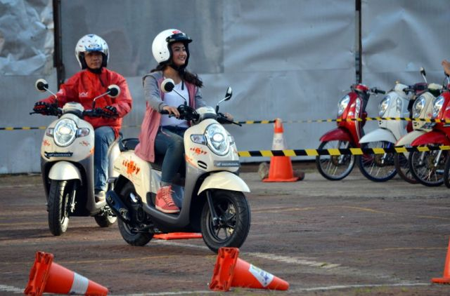 Rapor Penjualan Jakarta Fair 2017 Booth Honda
