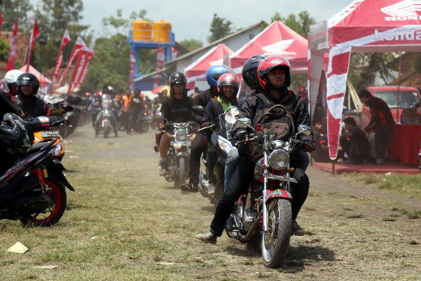 Pesta Akbar Honda Bikers Day kembali digelar