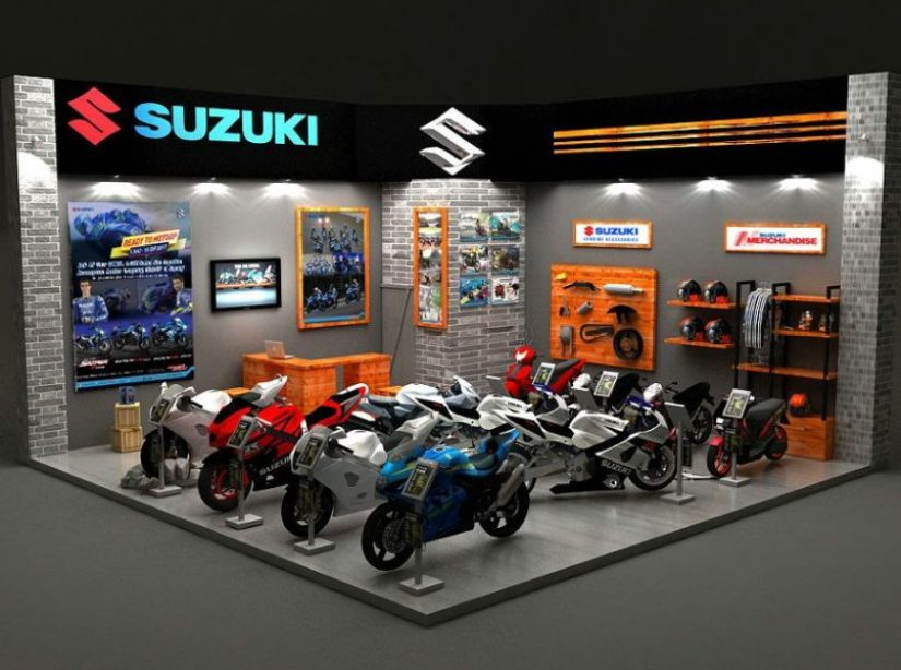 Program Suzuki 2W Selama Pameran GIIAS 2017