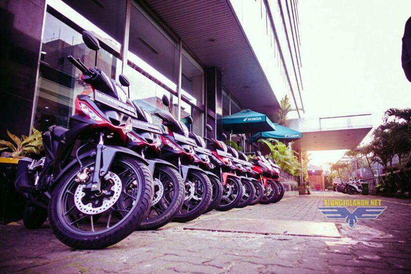 Touring Kemerdekaan bersama Wahana Honda