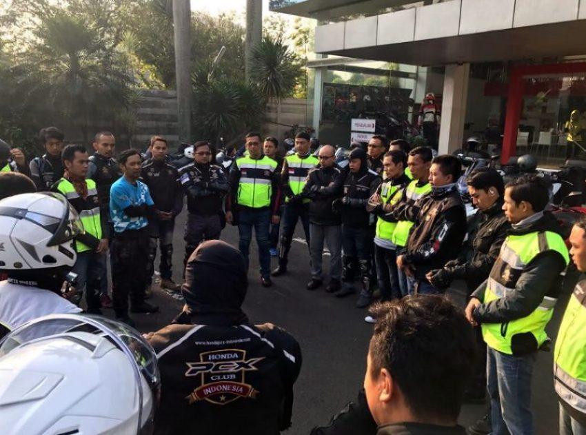 Komunitas Honda PCX Gelar Gathering Nasional