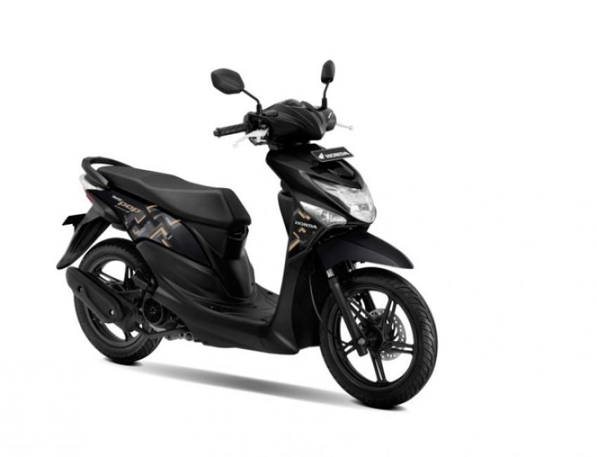 Warna Baru New Honda BeAT POP eSP