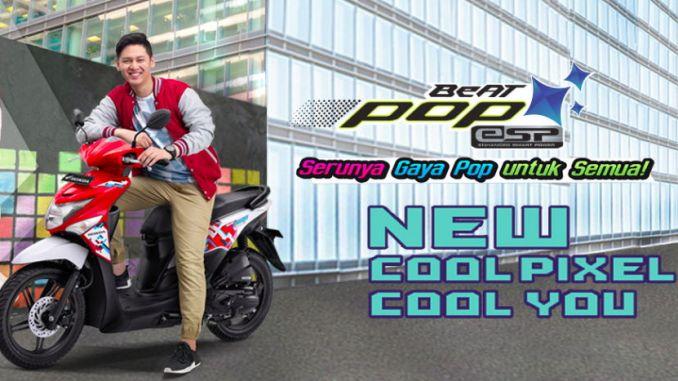 Warna Baru New Honda BeAT POP eSP