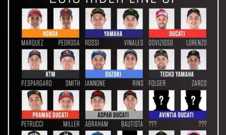 Daftar Pembalap MotoGP musim 2018