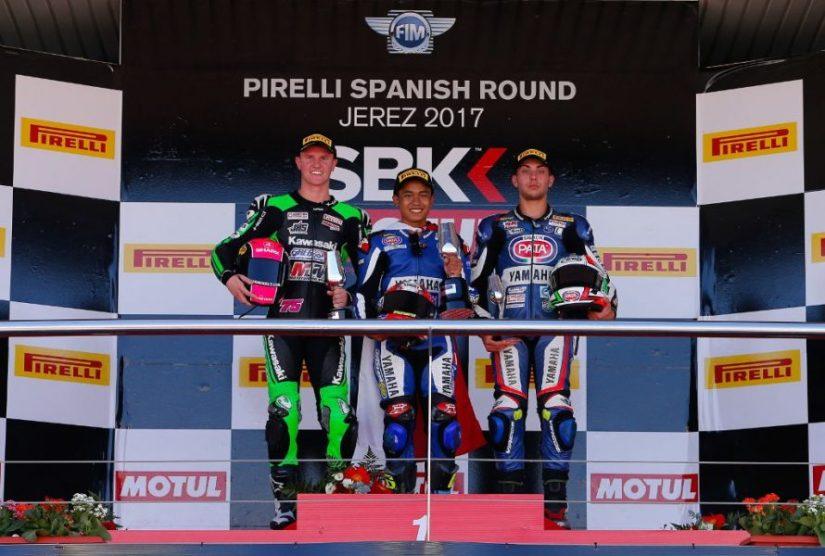 Galang Hendra Menjuarai World SSP300 Jerez 2017