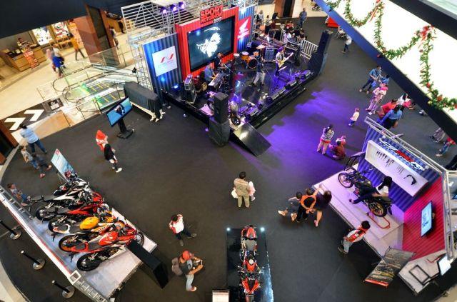 Honda Sport Motoshow di Aeon Mall Cakung
