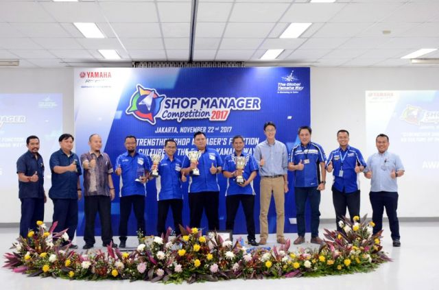 Juara National Shop Manager Competition 2017