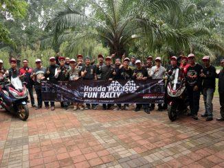 PCX Fun Rally Jakarta