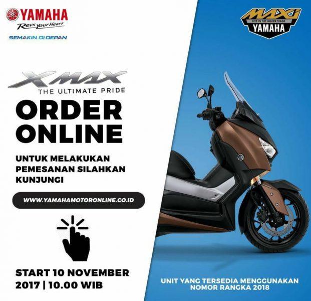 Kejutan XMAX Order Online Day bulan November