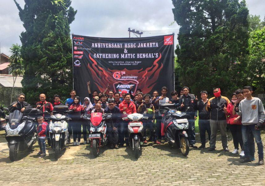 Wahana Honda Dukung Hajatan Gathering Pecinta Matic Jakarta