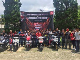 Gathering Pecinta Matic Jakarta