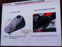 Fitur All New Honda CRF150L