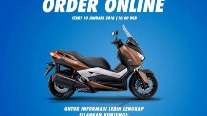 XMAX Order Online Januari