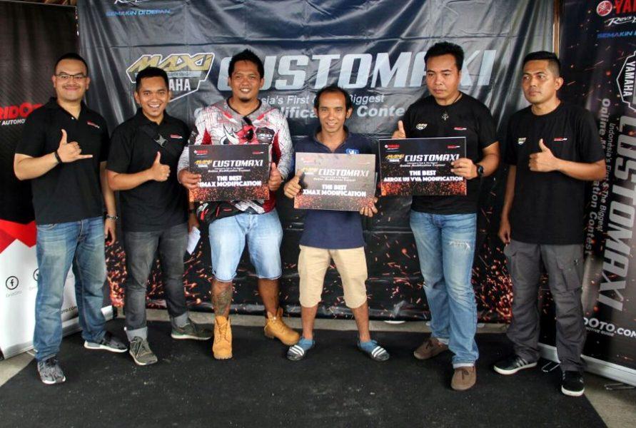 Pemenang Semifinal CustoMAXI Bali, Geliat Modifikator Muda Bali yang Begitu Kental