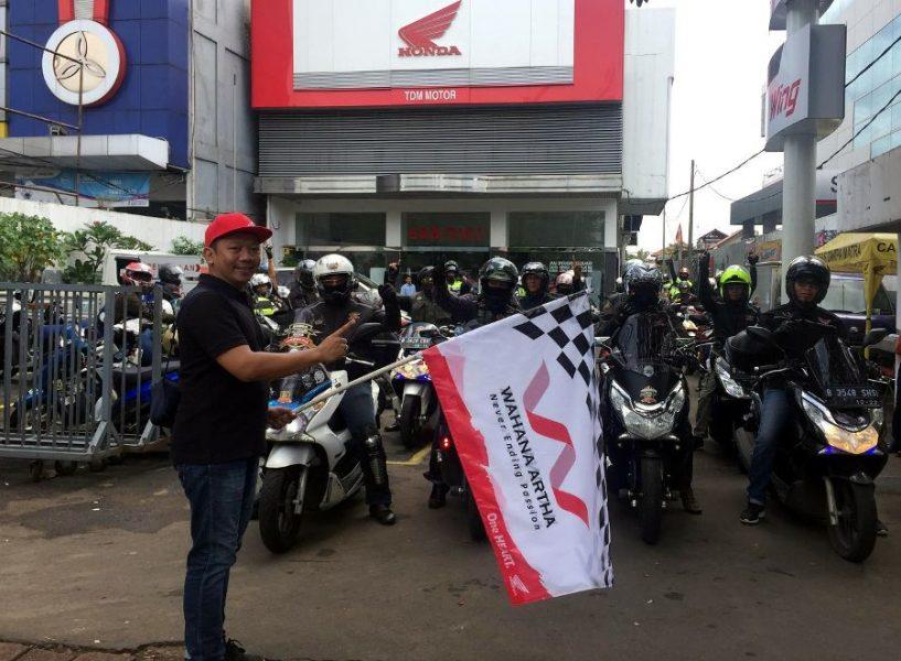Aksi Sosial Komunitas Honda PCX Jakarta