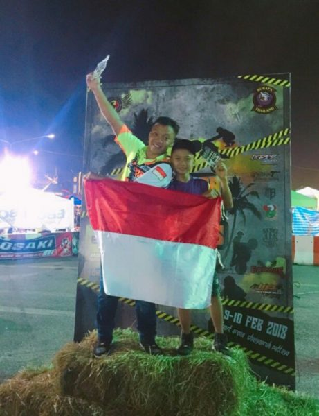 Wawan Tembong Juara Freestyle Burapa Battle Stunts 9 Thailand