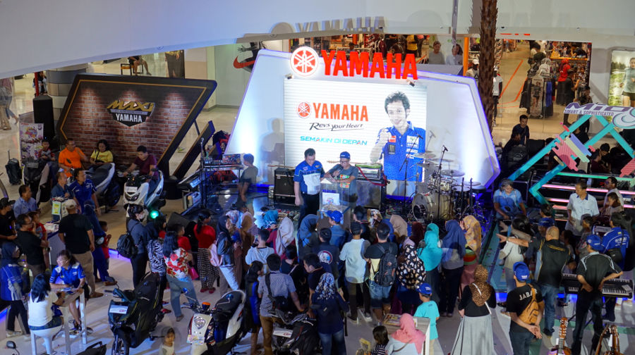 Blue Core Yamaha Motor Show 2018 Bogor