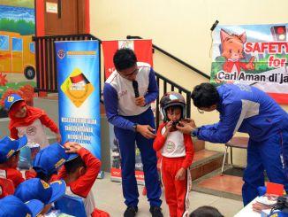 Wahana Sebarkan Etika Berlalu Lintas pada Anak TK