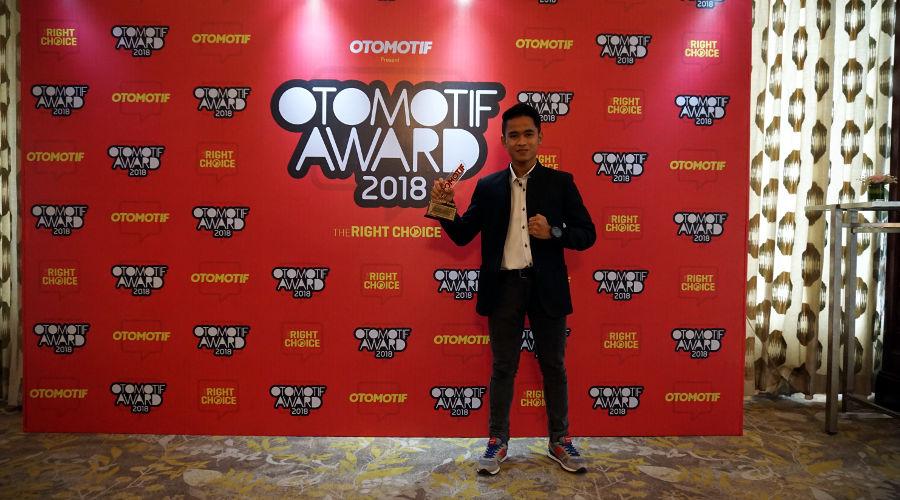 Otomotif Award 2018: Galang Hendra Pratama Raih Penghargaan Pembalap Motor Terbaik