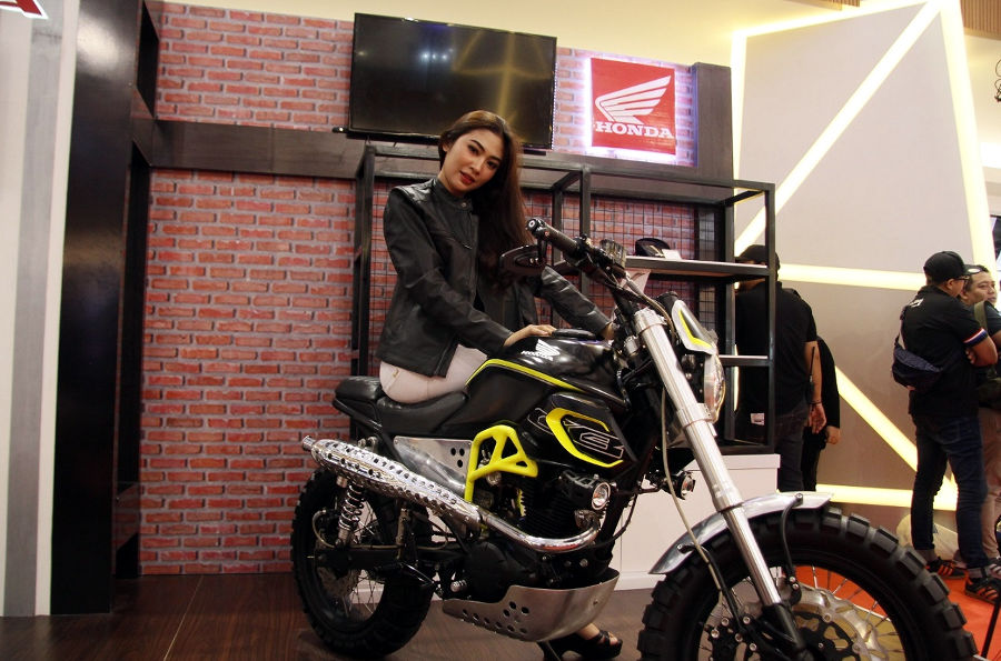 Launching Honda CB150 Verza Wilayah Jakarta Tangerang
