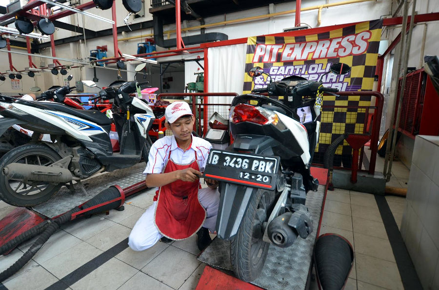Layanan Pit Express Wahana Honda