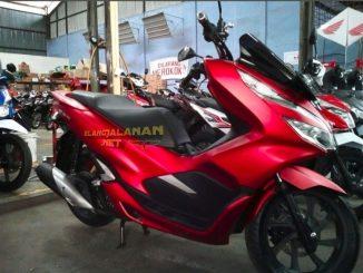 Harga Honda PCX 150 di kota Medan