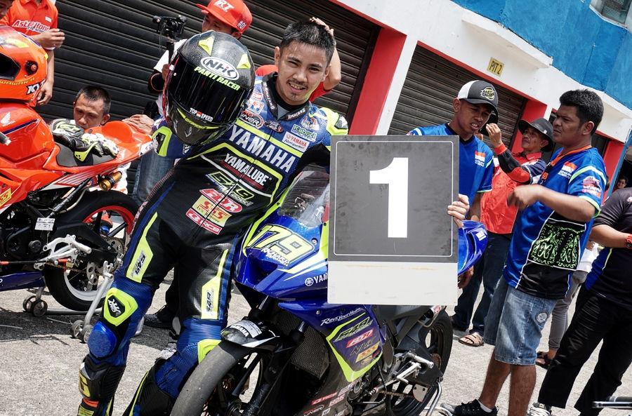 Hasil Race 2 Seri 1 Kejurnas Sport 150