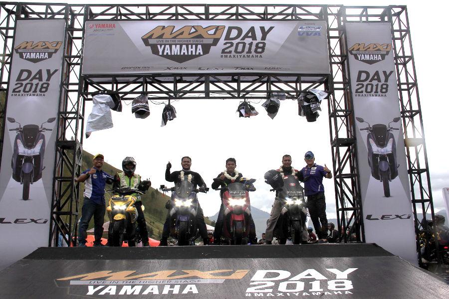 Danau Toba Menjadi Tempat Pertama, Meriahkan MAXI YAMAHA DAY 2018