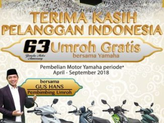 Berhadiah Umroh dari Yamaha