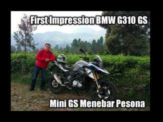 First Impression BMW G310 GS