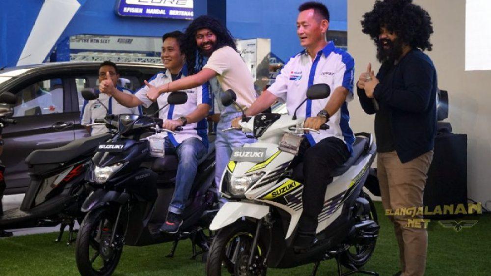 Launching Suzuki NEX II PRJ
