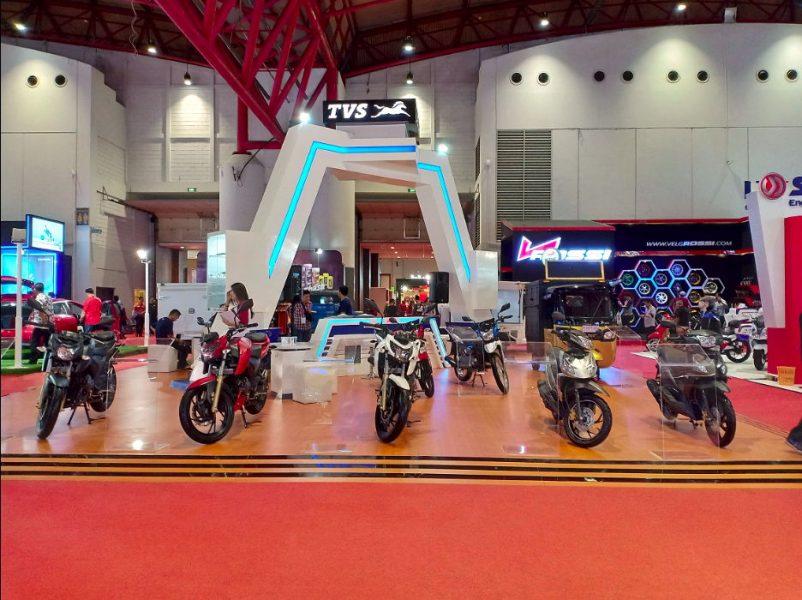TVS Kembali Hadir di Jakarta Fair 2018, Siap-siap Kejutan Produk Baru CBU dari TVS