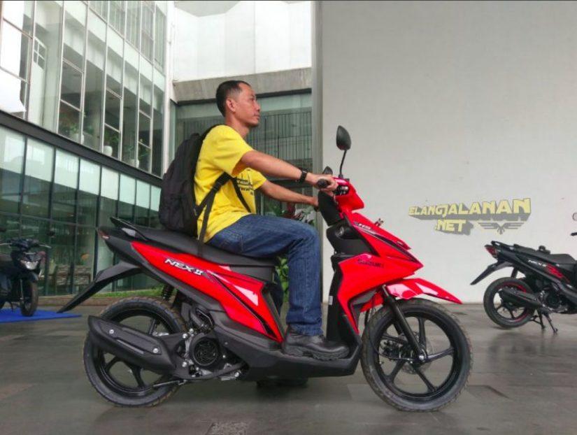 Spesifikasi Suzuki NEX II
