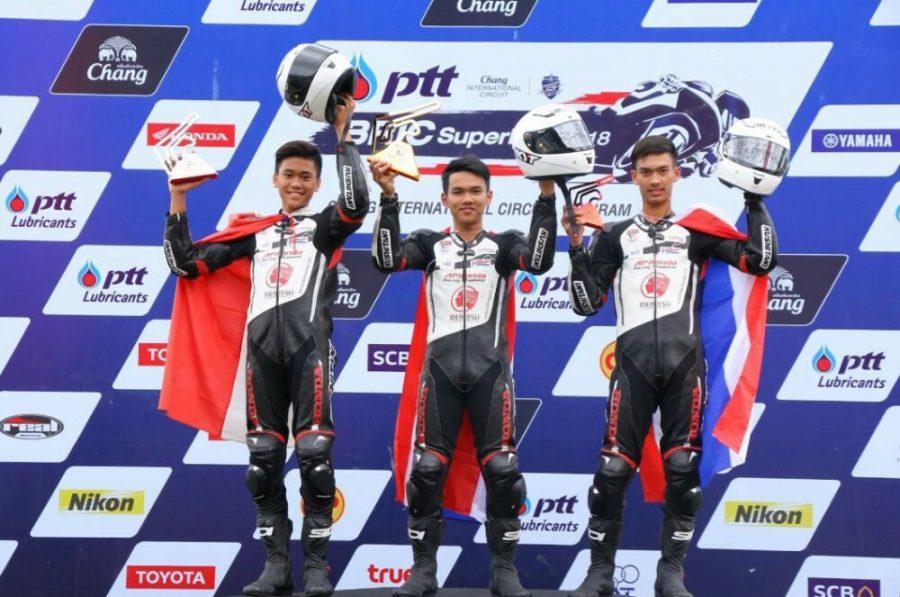 Herjun Atna Firdaus podium kedua Thailand Talent Cup Seri ke-2 Race 2