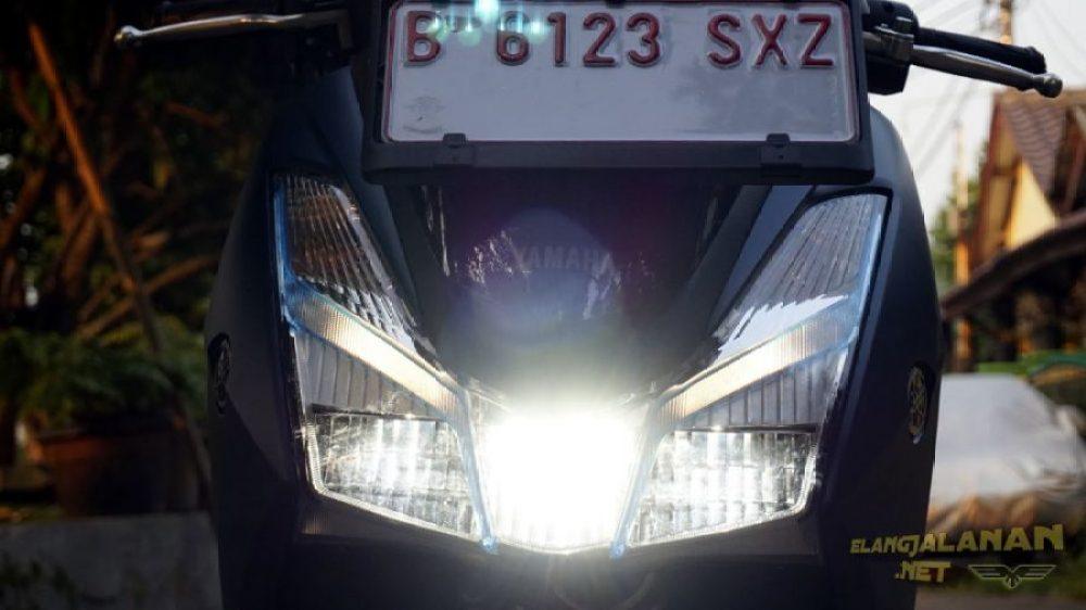 Review Penerangan Lampu LED Yamaha LEXi
