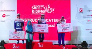 Kompetisi Safety Riding Nasional 2018