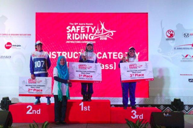 Kompetisi Safety Riding Nasional 2018
