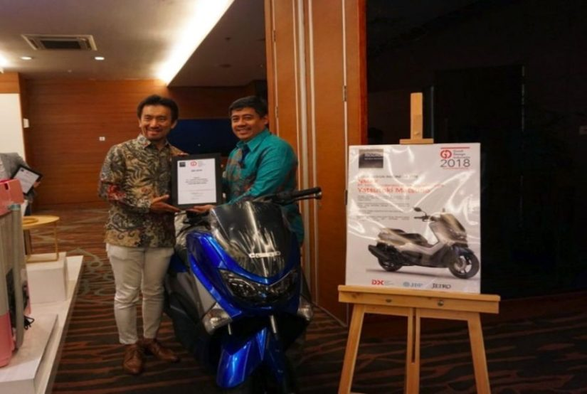 Yamaha NMAX raih penghargaan Good Design Indonesia