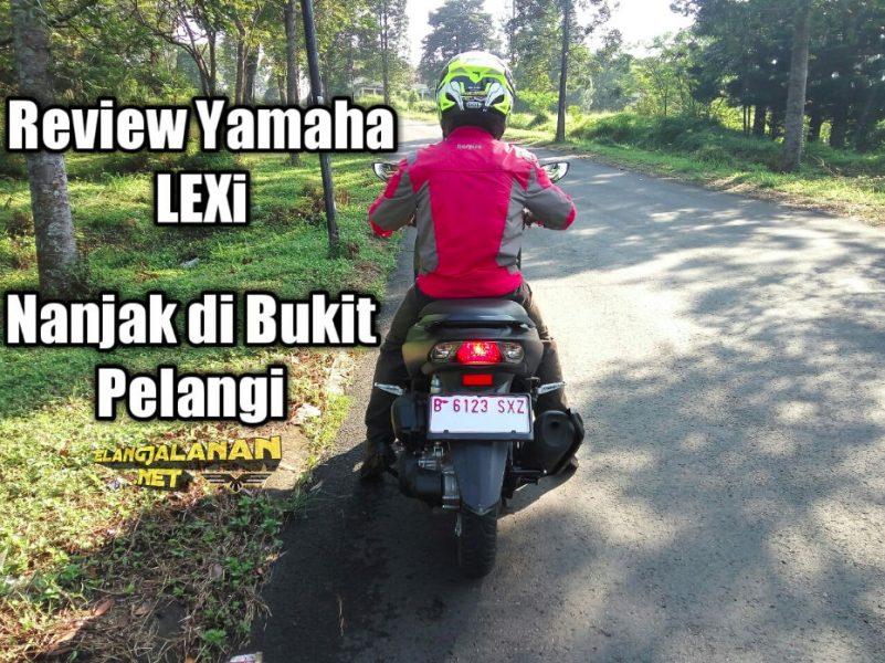 Yamaha LEXi dipakai nanjak, enteng gak sih?