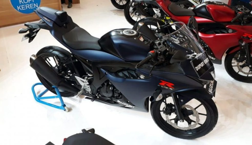 Suzuki GSX-R150 Matte Blue
