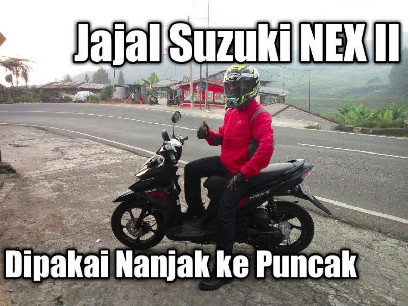 VLOG: Review Suzuki NEX II dipakai nanjak ke Puncak, gimana impresinya?