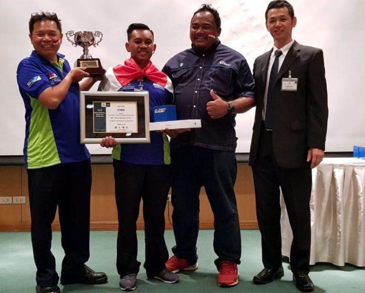 Perwakilan Mekanik Suzuki Indonesia Jadi Mekanik Terbaik se-Asia