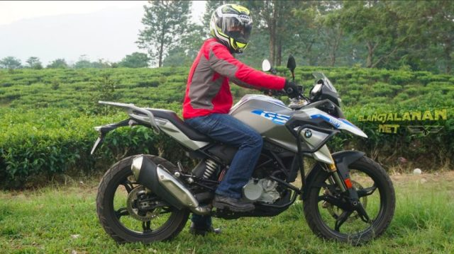 Test Kelincahan BMW G310 GS