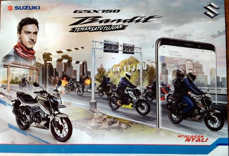 Harga Suzuki GSX150 Bandit Resmi dibanderol Rp 26.000.000 OTR Jakarta
