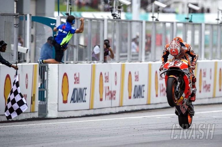 Download Video Full Race MotoGP Sepang 2018, Marquez Juara