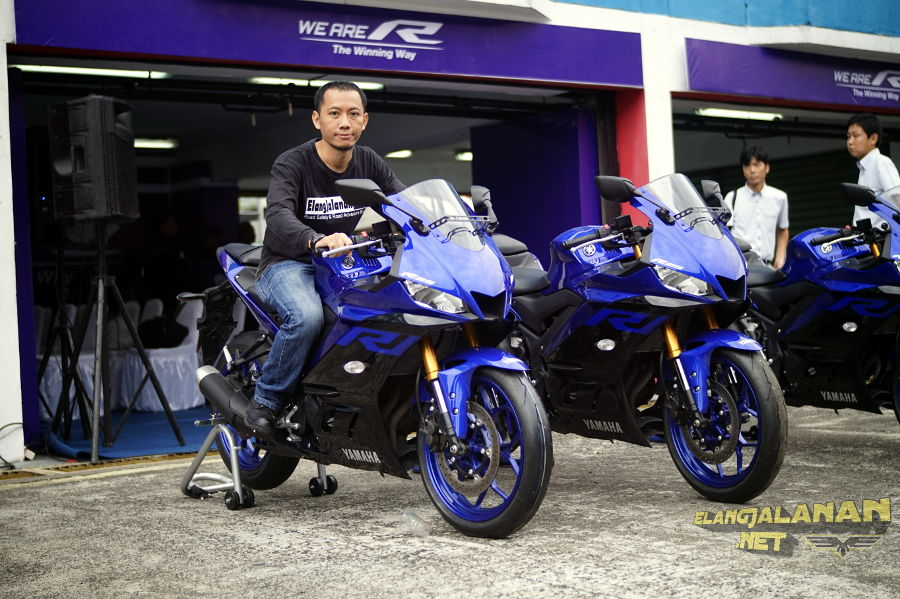 Yamaha Gelar Media Test Ride Yamaha R25 dan FreeGo di Sirkuit Sentul