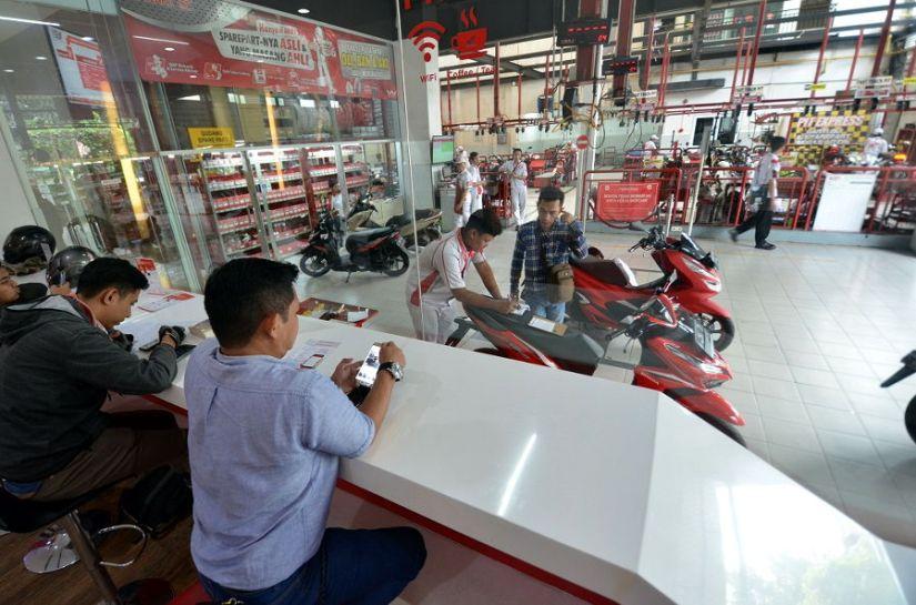 5 juta Motor Honda Service di AHASS