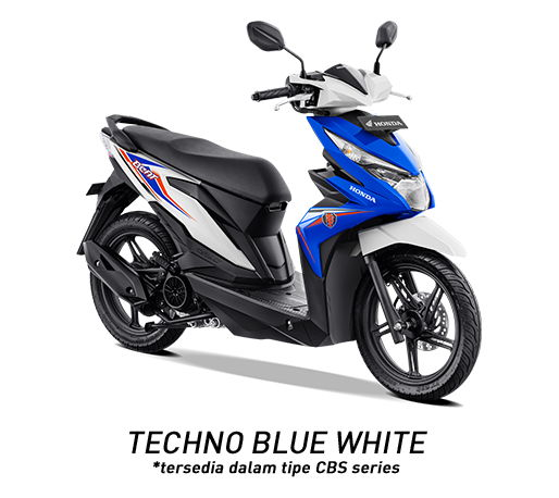 Warna Baru New Honda BeAT